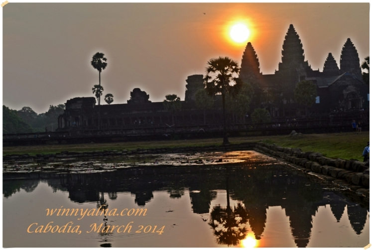 sunrise angkor