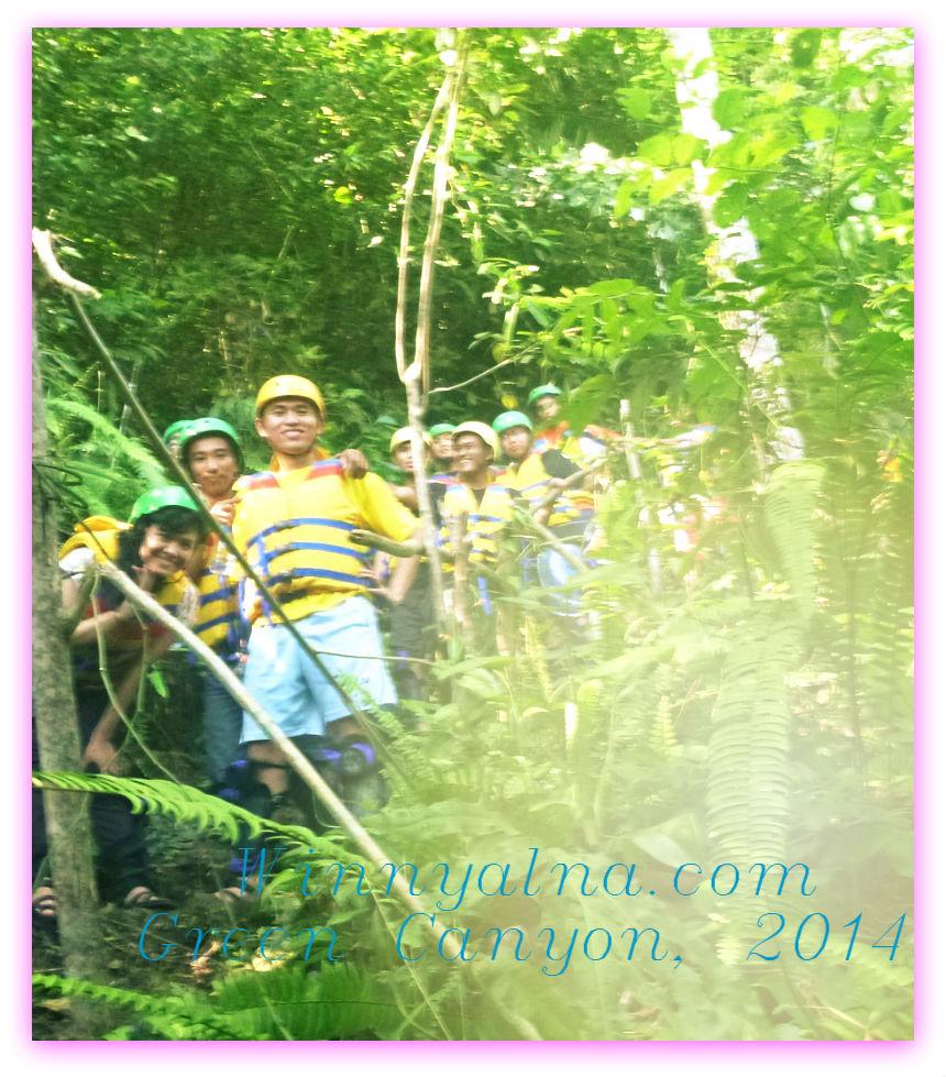 body rafting di Sungai Cijulang