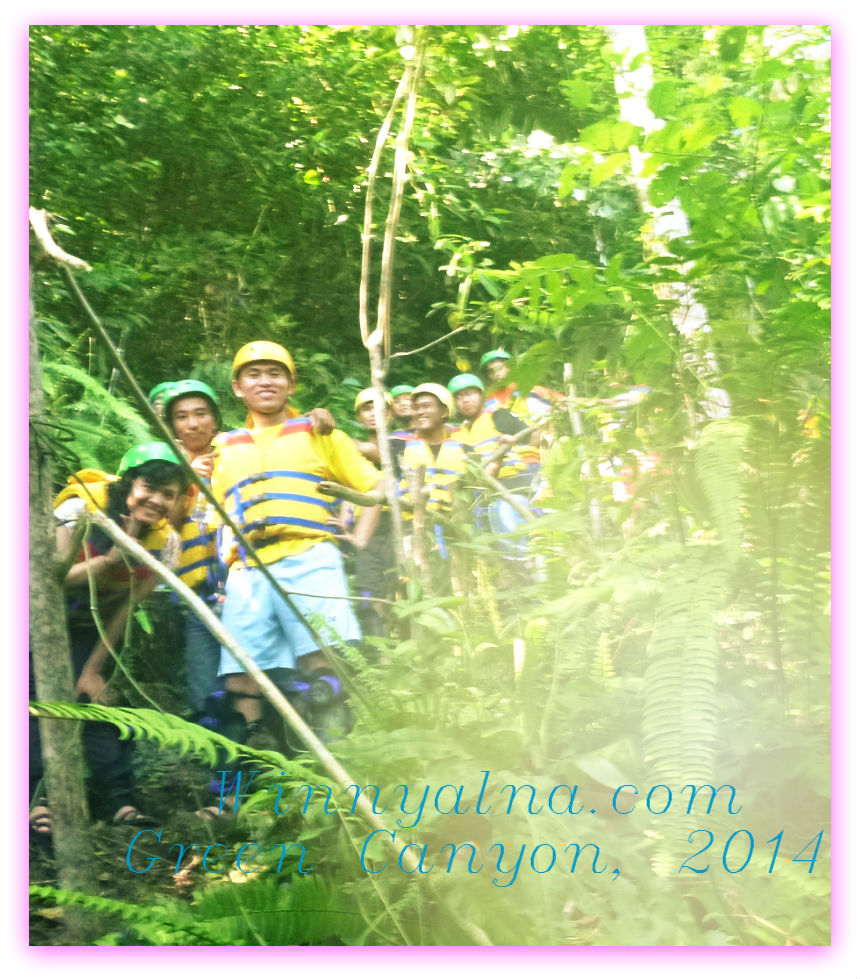 body rafting di Sungai Cijulang