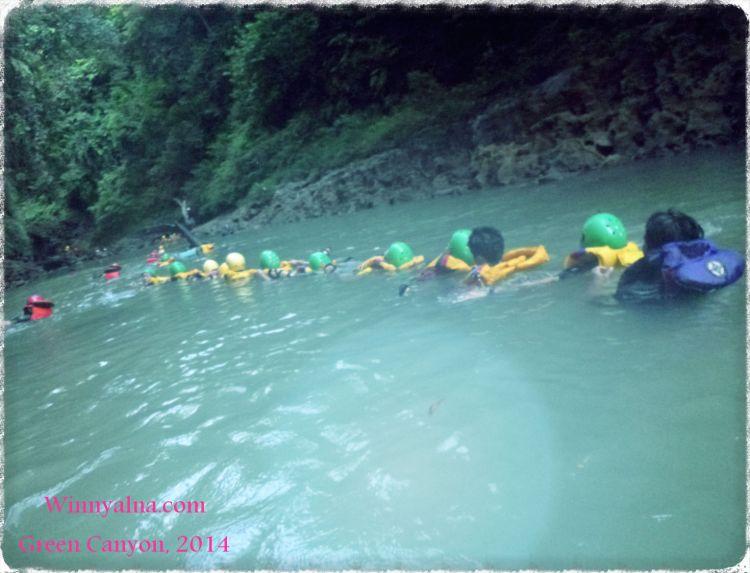 Green Canyon Pangandaran Indonesia