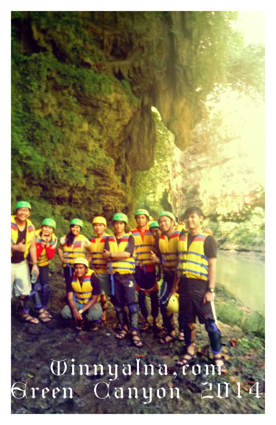 Kami di Green Canyon