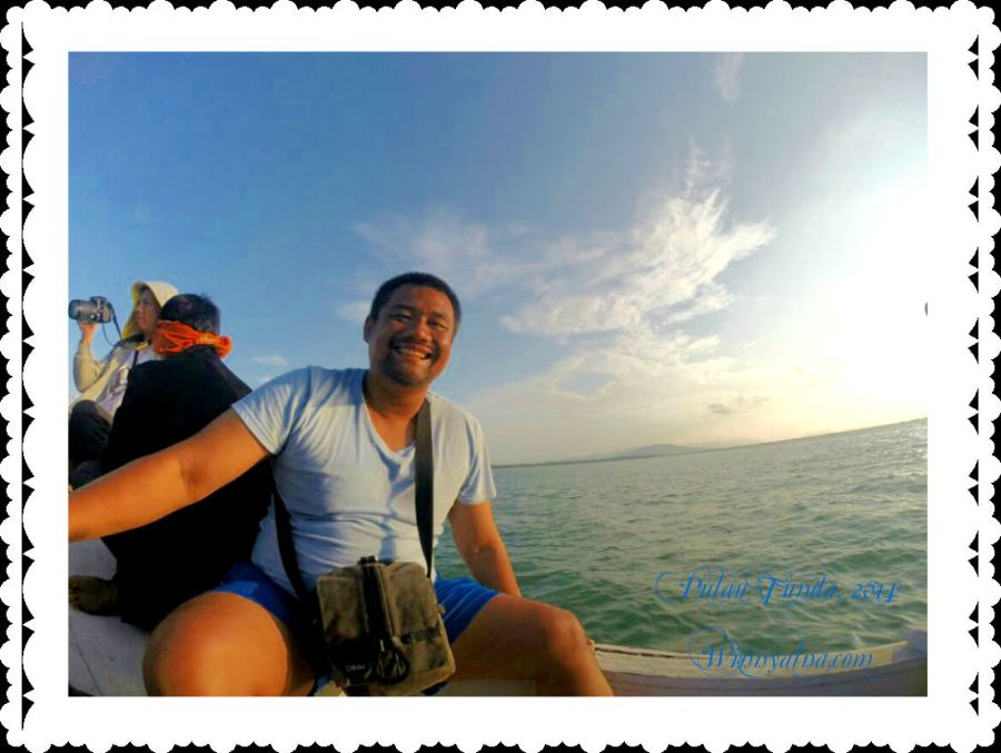 perjalanan ke Pulau  Tunda