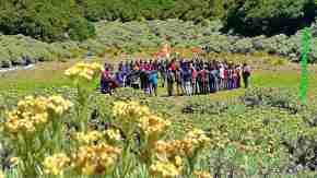 Upacara di Gunung Papandayan