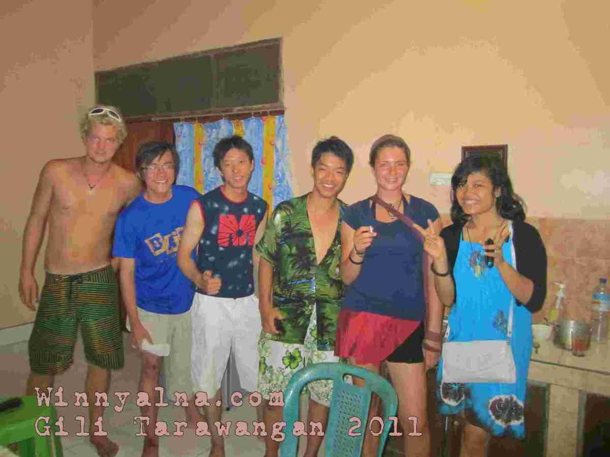 Housemate di Gili Trawangan