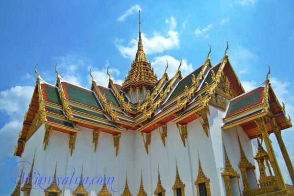 Grand Pallace bangkok thailand