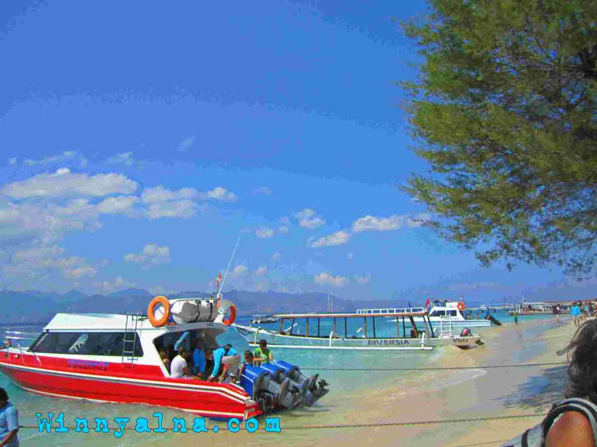Travelling to Gili