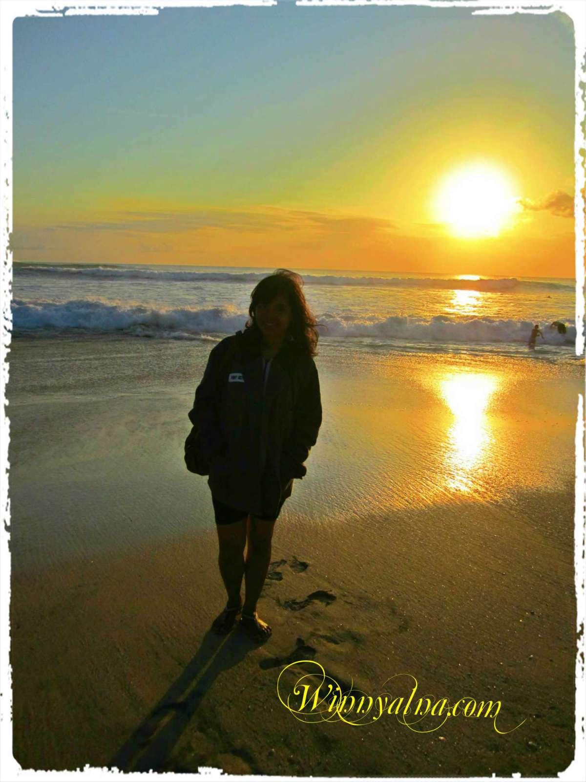 Sunset New Kuta Beach