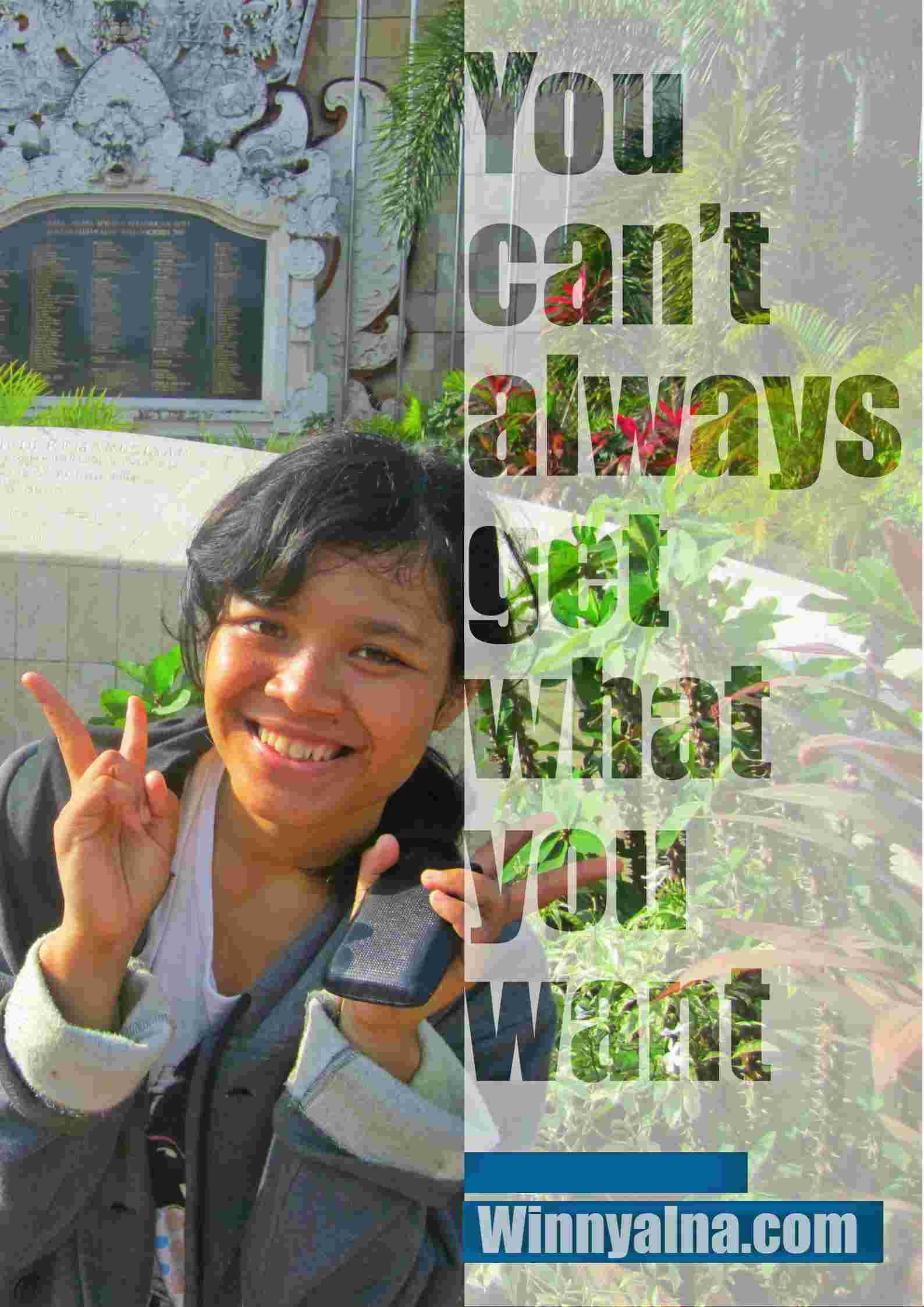 Akhir Perjalanan Bali Winny Marlina