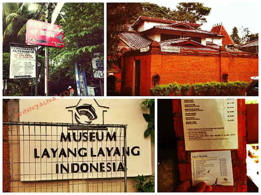 akses ke Musuem layang indonesia