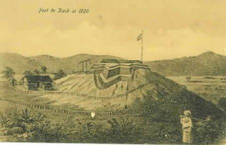 Benteng Fort de Kock from WIkipedia
