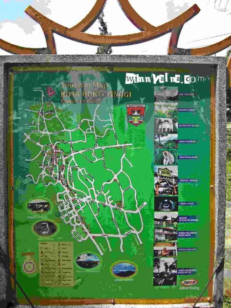 Peta Wisata Bukittingi