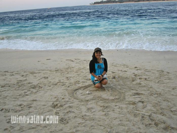 Aku di Gili Trawangan Lombok