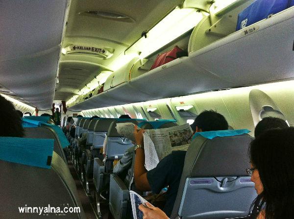 pengalaman di pesawat garuda