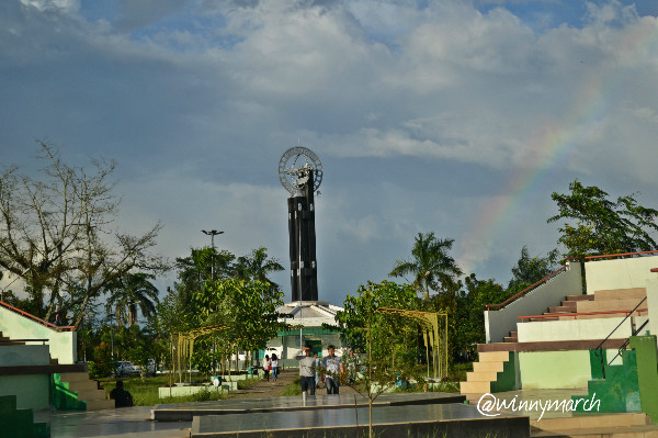 The Equator monument
