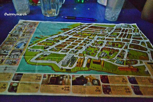 Peta wisata george Town