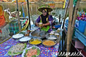 Floating market Thailand