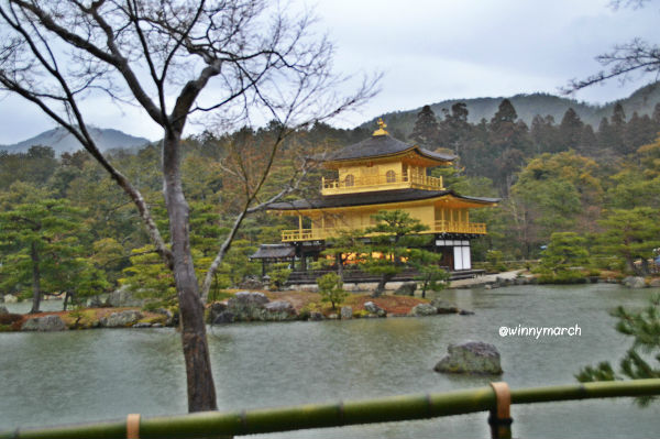 Kinkakuji temple (Golden Pavillon)