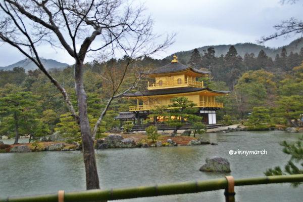 Kinkakuji temple (Golden Pavillon)
