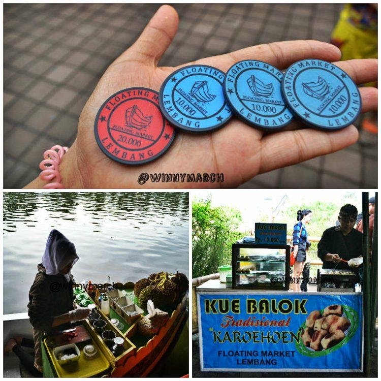 Koin floating market