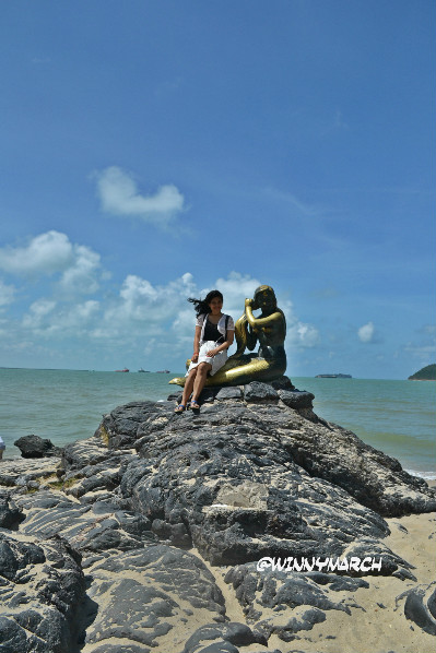 Pantai Samila Songkhla Thailand
