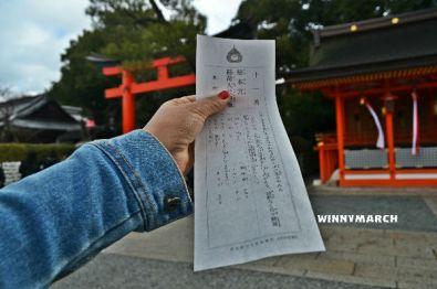 Ramalan di Fushimi Inari