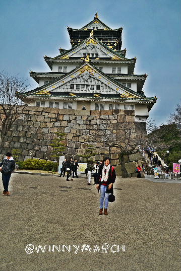 osaka castle jepang