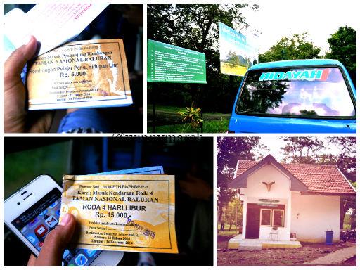 Tiket Masuk ke Taman Nasional Baluran