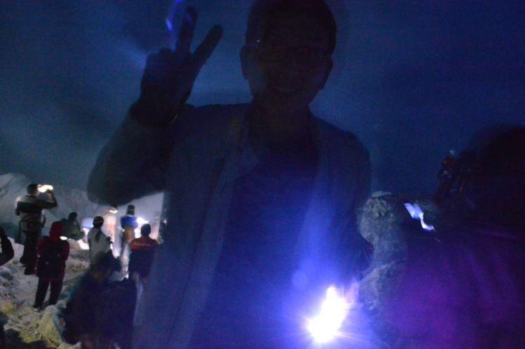 Ijen Blu fire Indonesia