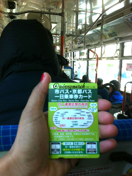 Kyoto all day pass