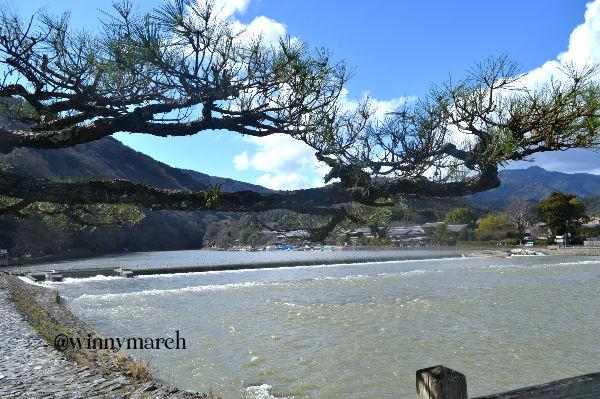 Togetsukyo Bridge Moon Crossing Bridge