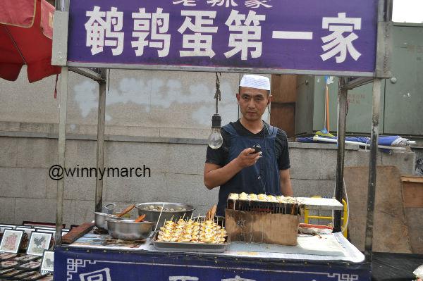 China's Muslim street