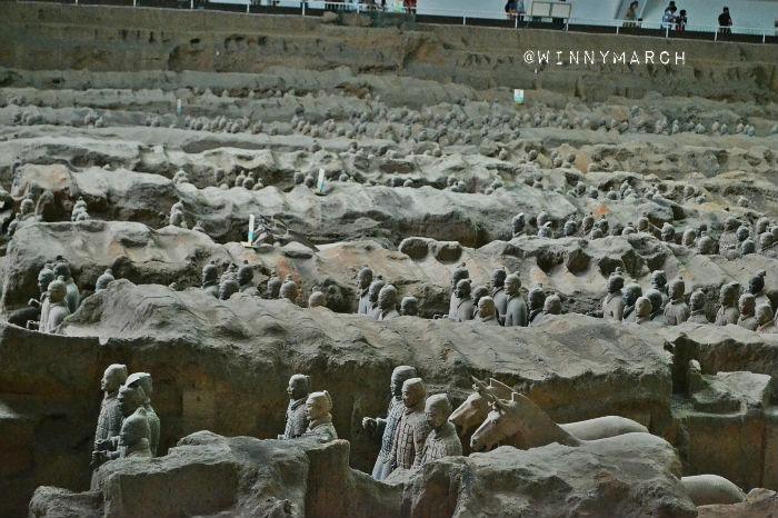 Emperor Qin Shi Huang's Mausoleum
