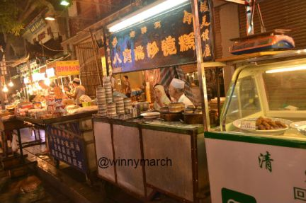 Food and Souvenir at Muslim Quarter