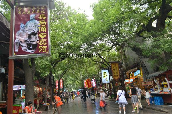 Muslin street China