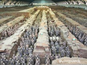 Terracotta Warriors and Horses China