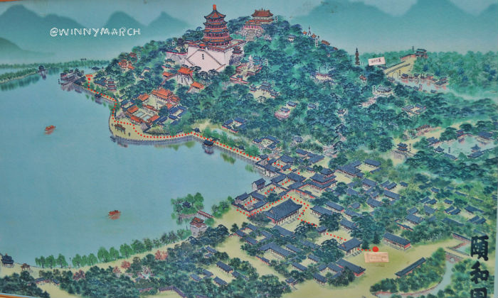 Map of Summer Palace
