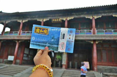 tiket masuk summer palace