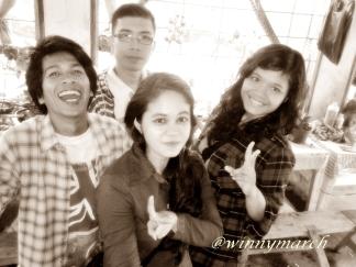 Best Friends, Nyakmat, Marwan, Nisfi dan aku