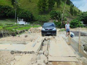 Jalan ke Danau Toba via brastagi