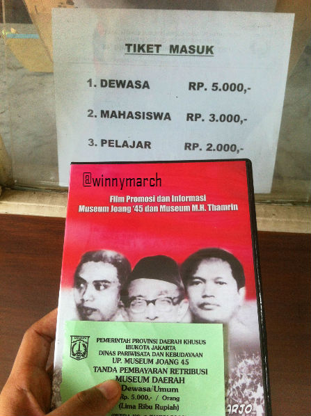 Museum Gedung Joang '45 Jakarta