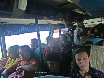 pengalaman naik bus