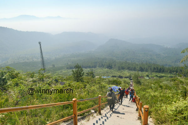 Wisata di Gunung Galunggung Tasikmalaya