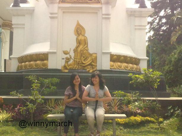 kuil 1000 patung buddha