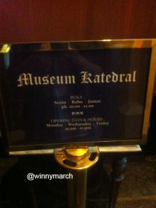 museum katedral Jakarta pusat