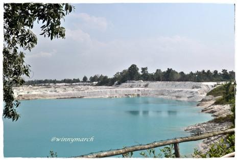 Danau Kaolin Belitong