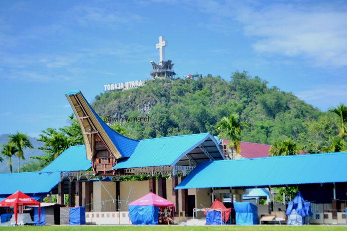 Bukit kasih Toraja