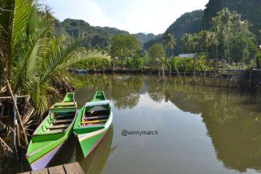 perahu ke ramang-ramang