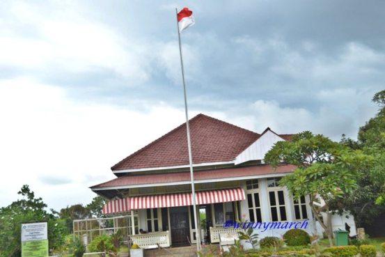 rumah pengasingan Soekarno di Bengkulu