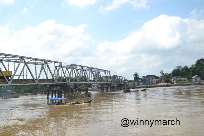 Sungai kampar Riau