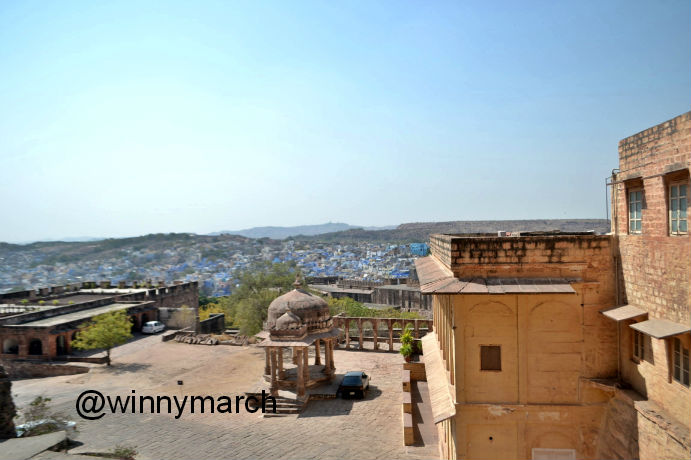 Blue City Jodhpur India